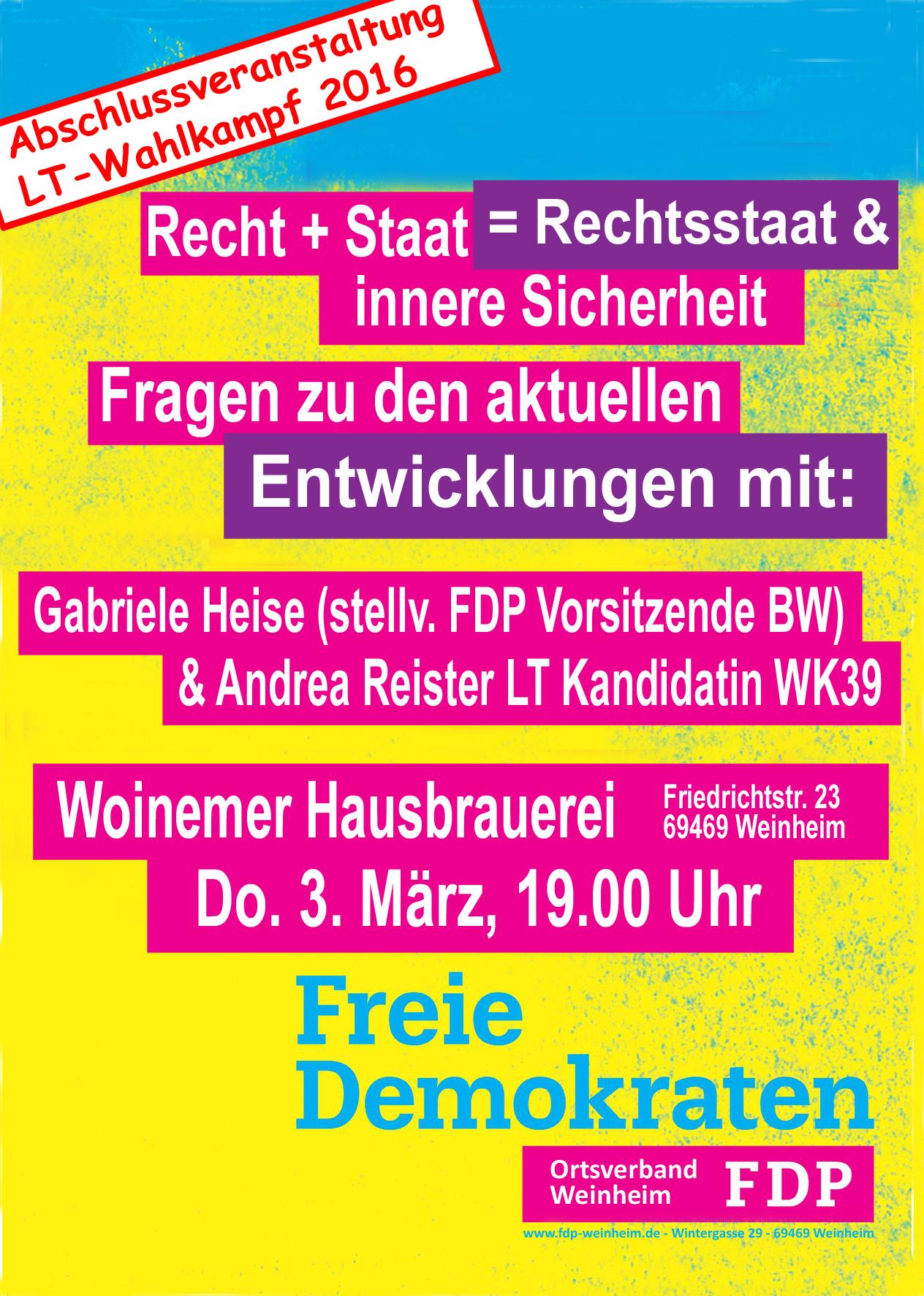 FDP Postkarte Abschluss VA